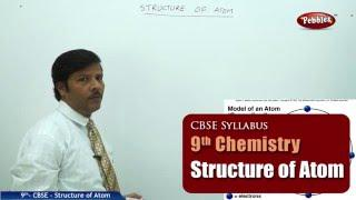 NCERT | CBSE Syllabus | Class 9th Science-Chemistry | Structure of Atom | Live Videos