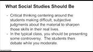 How to Teach Social Studies / History: A Survival Guide for First Year Teachers