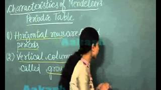 Class 10th Chemistry: Periodic Classification of Elements Mendeleev's Periodic Table