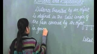Class 9-Physics Online Video Lectures-Motion: Distance and Displacement