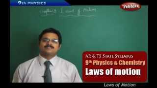 Laws of Motion- Class 9th State Board Syllabus Physics and chemistry