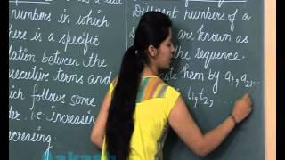 Class 10th-Maths Online Video Lectures-Arithmetic Progressions