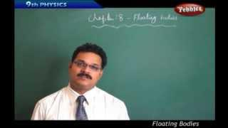Floating Bodies - Class 9th State Board Syllabus Physics and chemistry
